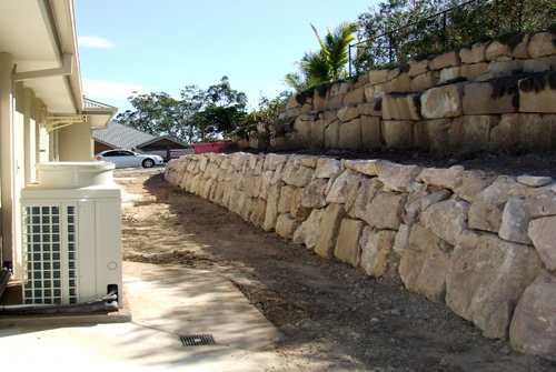 Precision Boulder Walls Brisbane | B-Grade Sandstone ...